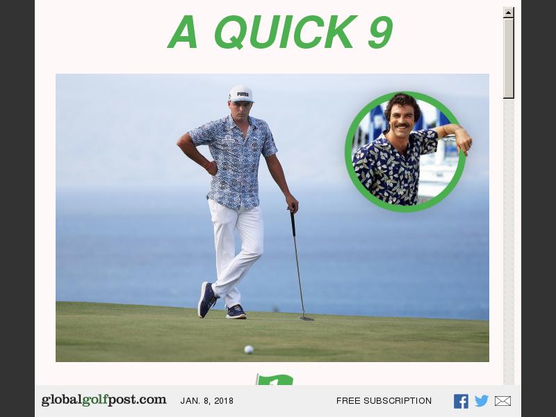 monsieur golf callaway 360 face cup