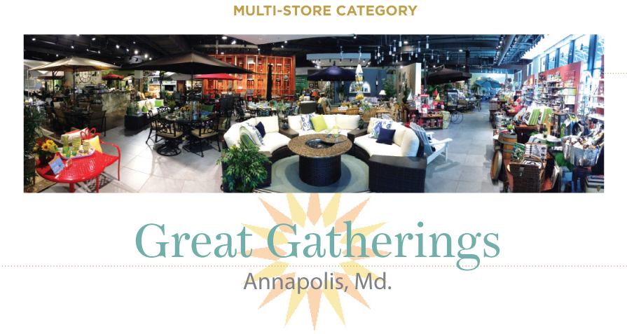 First Time Apollo Nominee Great Gatherings Entered The Outdoor Furniture  Industry In 2008 With A Brand Promise Geared For Todayu0027s Market: To Inspire  Friends ...