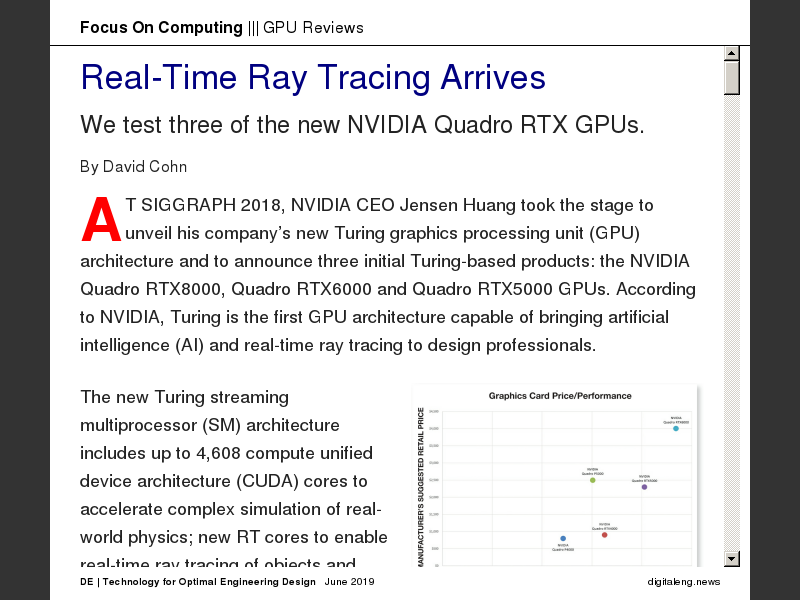 Real-Time Ray Tracing Arrives