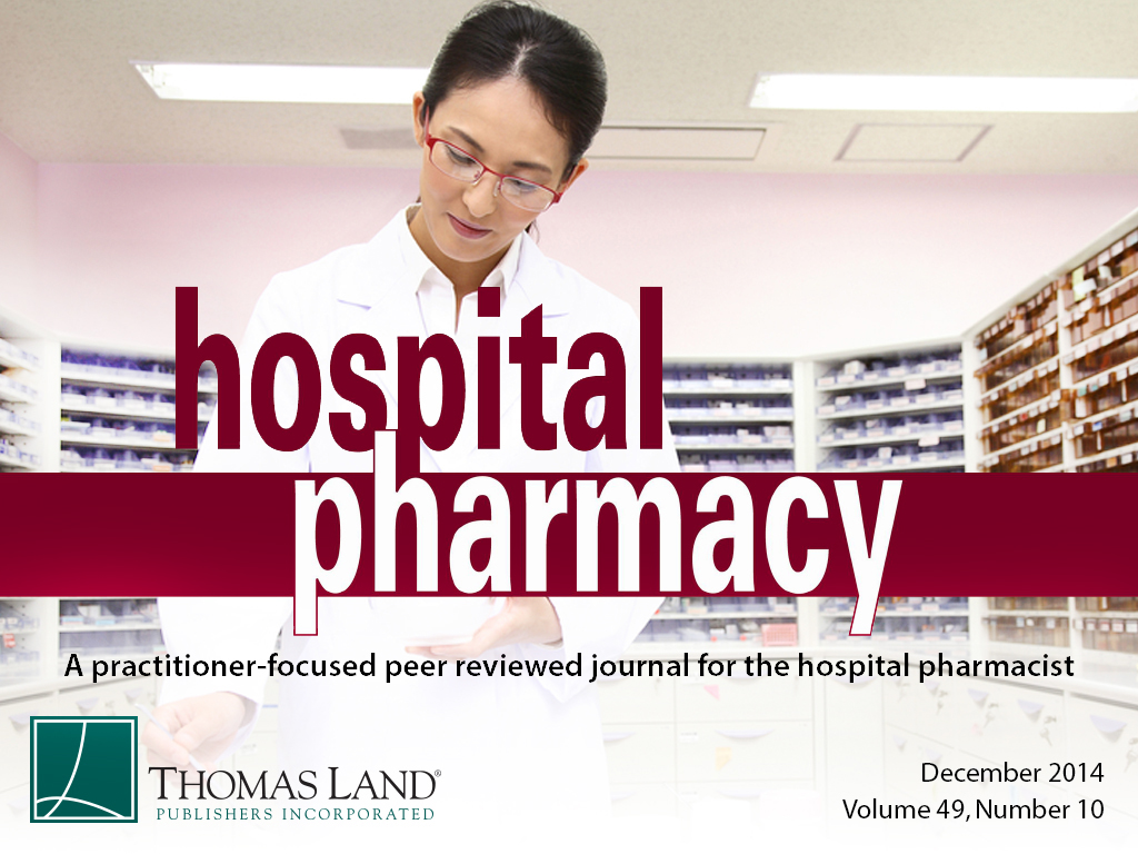 hospital pharmacy 1 hospital pharmacy: staff background the inpatient setting of hospital pharmacy is unique in a number of ways the patients treated by a hospital pharmacist typically have more complicated.