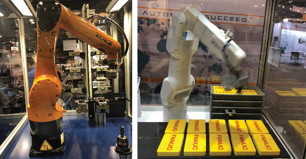 2983c7e2cf5f Robotics were prevalent at NPE2018 and are integral to the automation and  process improvements long in the works for the plastics industry.