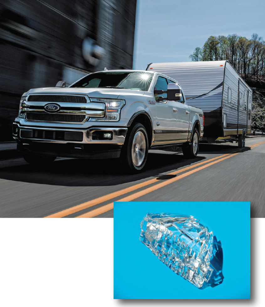 Enlightening Possibilities Plastics Expand Role In Vehicle Lighting Board Lamps Beautiful Asian Paper Lamp Inspired Recycled Circuit And High Beam Led Headlamp Applications Replaced Multiple Glass Lenses On Ford F 150 Pickups From Motor Co Customers Benefit A Uniform Light
