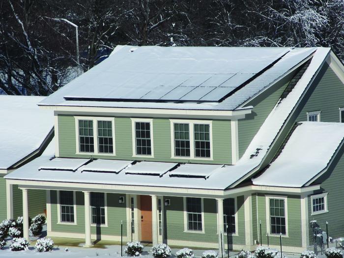 Zero energy homes with help from plastics Zero energy homes