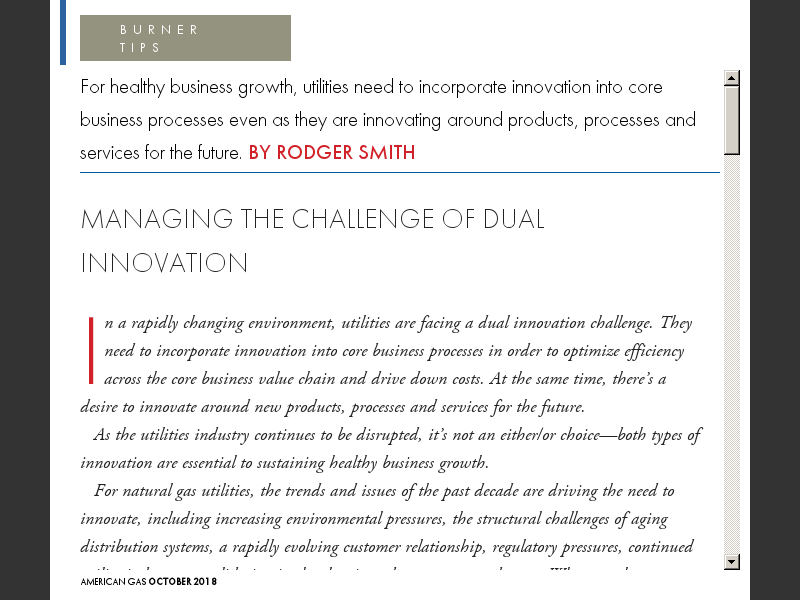 Managing The Challenge Of Dual Innovation